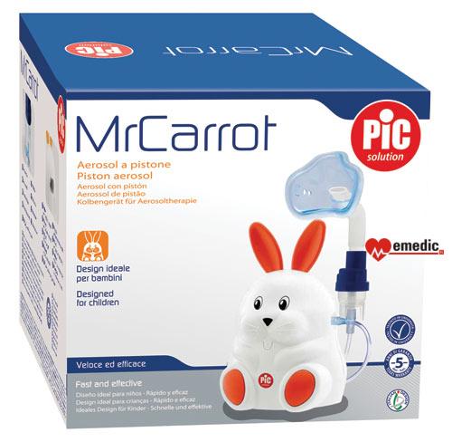 Inhalator dla dzieci PIC Solution Mr Carrot - opakowanie, karton