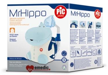 Inhalator dla dzieci PIC Solution Mr HIPPO - opakowanie, karton