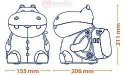 Inhalator dla dzieci PIC Solution Mr HIPPO
