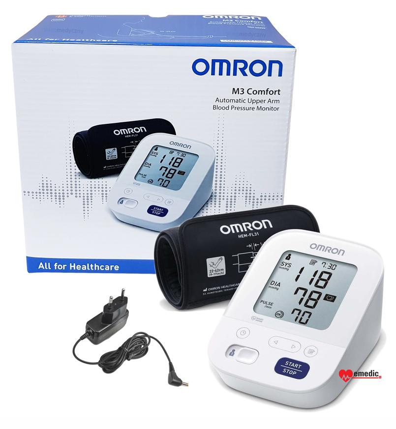 Ciśnieniomierz Omron M3 Comfort HEM-7155-E wersja 2020 rok