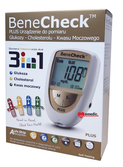 BeneCheck Plus 3w1 - kartonik