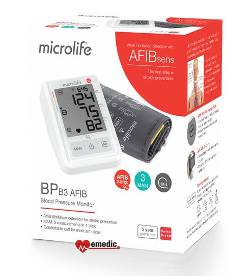 Ciśnieniomierz Microlife A3 AFIB + zasilacz