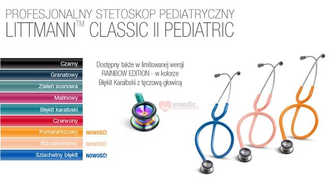 Stetoskop 3M Littmann Classic II Pediatric
