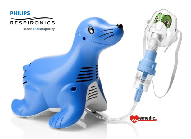 Inhalator pediatryczny Philips Respironics Sami the Seal Foczka