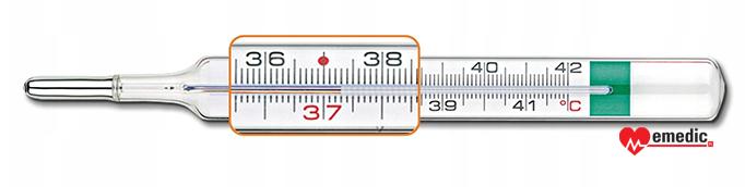 termometr szklany bezrtęciowy pic solution vedo eco plus